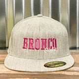 Bronco Babe Premium Flexfit Fitted Hat - Bronco Western Supply Co.