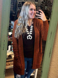 Loungin' Around Popcorn Cardigan (Various Colors) - Bronco Western Supply Co.