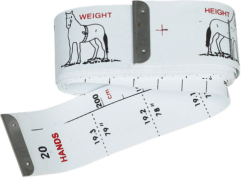 Horse & Pony Height & Weight Tape