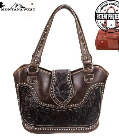 Montana West Tooling Concealed Handgun Collection Handbag - Bronco Western Supply Co.