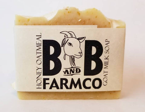 Honey Oatmeal Goat Milk Soap - Bronco Western Supply Co.