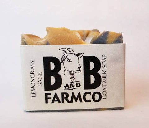 Lemongrass Sage Goat Milk Soap - Bronco Western Supply Co.