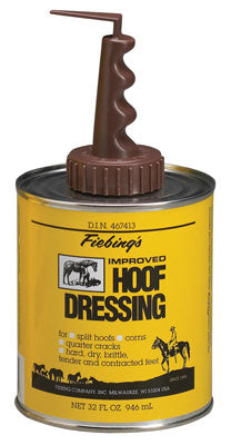 Hoof Dressing with Brush - Bronco Western Supply Co.