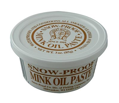 Snow-Proof Weatherproofing Mink Oil Paste