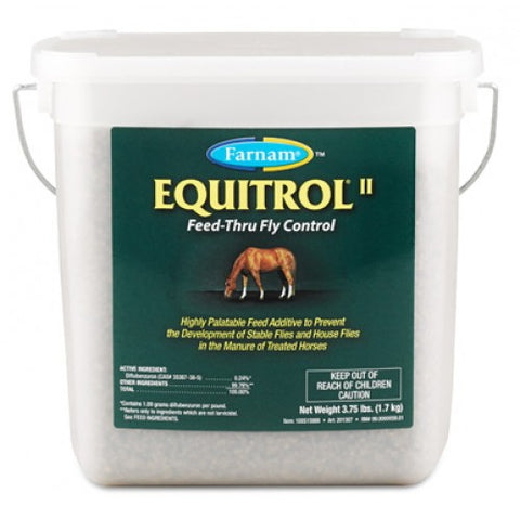 Equitrol II Feed-Thru Fly Control - Bronco Western Supply Co.