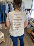 Break the Rules Lace Detail Top - Bronco Western Supply Co.