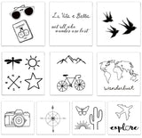 Destination Pack - Temporary Tattoos - Bronco Western Supply Co.