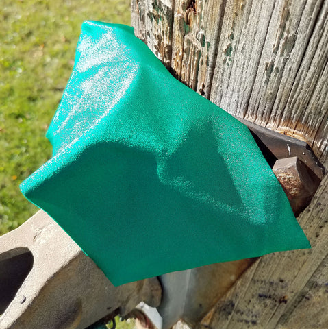 Boho Rodeo Headband - Green Shimmer - Bronco Western Supply Co.