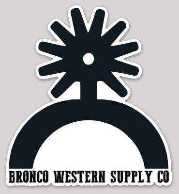 Spur Up Sticker - Bronco Western Supply Co.