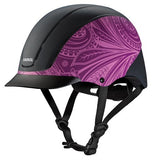 Spirit Helmet - Purple Boho - Bronco Western Supply Co.