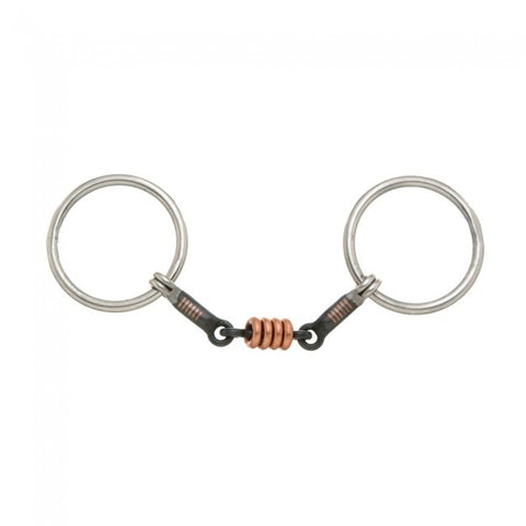 Kelly Silver Star 3 Piece Ring Snaffle - Bronco Western Supply Co.