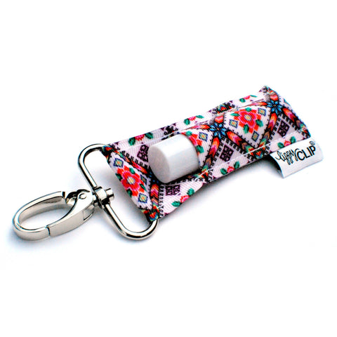 Patchwork LippyClip Lip Balm Holder - Bronco Western Supply Co.