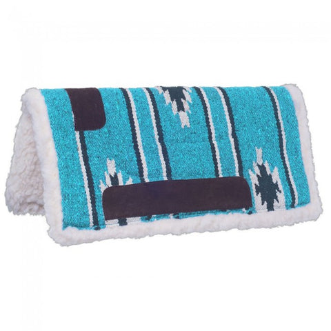 Miniature Sierra Saddle Pad - Teal - Bronco Western Supply Co.