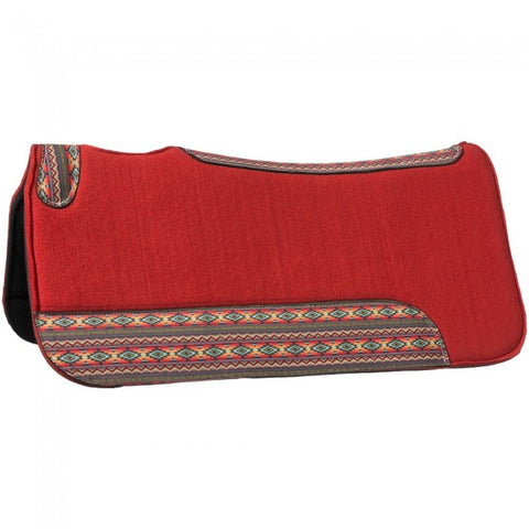 Tough-1 Printed Felt Saddle Pad - Red Canyon Sunset - Bronco Western Supply Co.