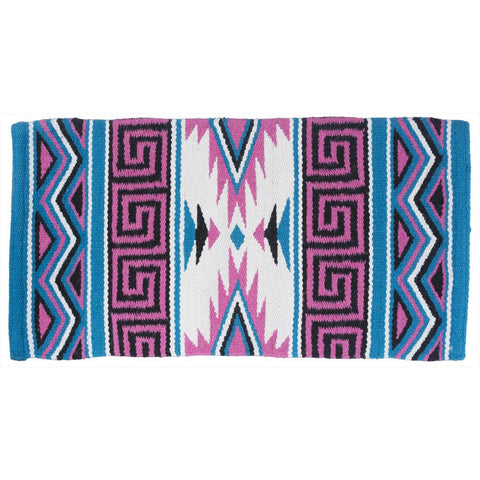 Mayan Navajo Wool Saddle Blanket - Bronco Western Supply Co.