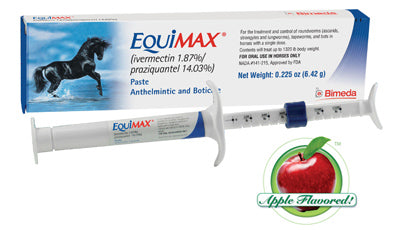 EquiMAX Paste (1.87% ivermectin/14.03% praziquantel) - Bronco Western Supply Co.