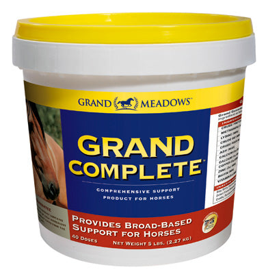 Grand Complete Comprehensive Support Product for Horses - Bronco Western Supply Co.