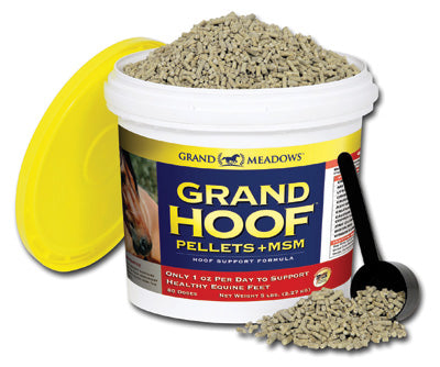 Grand Hoof Pellets+MSM - Bronco Western Supply Co.
