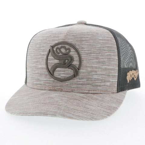 "Hooey Roughy ""STRAP"" Tan/Brown Trucker Hat - Bronco Western Supply Co."