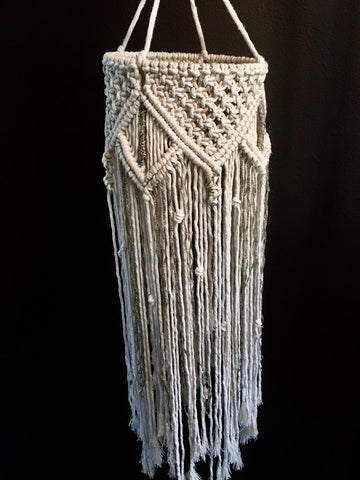 Macrame Lantern - Handmade - Bronco Western Supply Co.