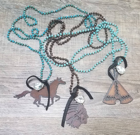 Rusted Royalty Necklace - Bronco Western Supply Co.