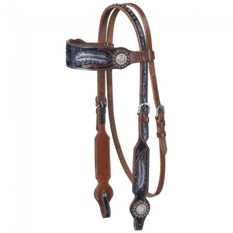 Zane Collection Headstall - Bronco Western Supply Co.
