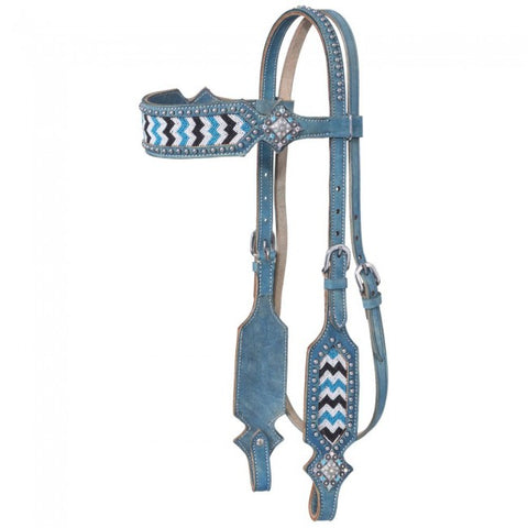 Chase Collection Browband Headstall - Bronco Western Supply Co.