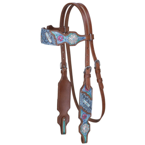 Macaelah Collection Browband Headstall - Bronco Western Supply Co.