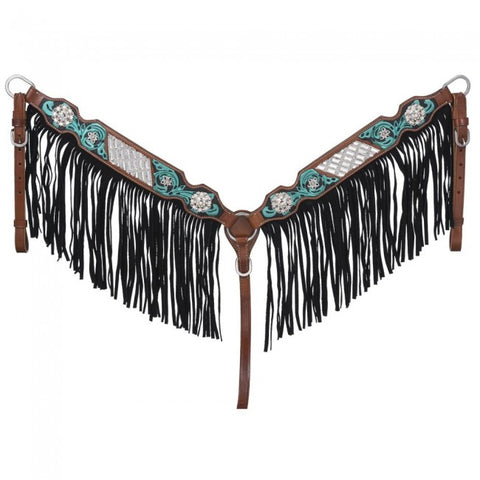 Ashton Collection Breast Collar with Fringe
