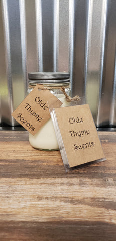 Olde Thyme Scents Jar Candles - Bronco Western Supply Co.