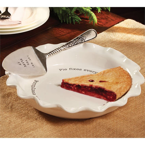 Circa Pie Plate and Server Set - Bronco Western Supply Co.