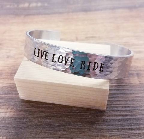 Live Love Ride Cuff - Bronco Western Supply Co.