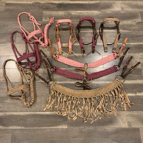 Muletape Tack Set (Various Colors) - Bronco Western Supply Co.