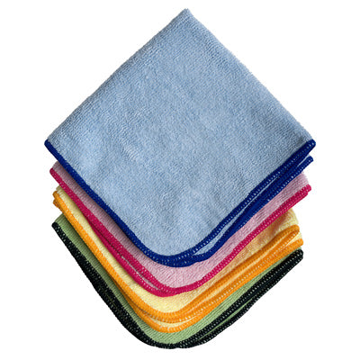 Microfiber Towel - Blue - Bronco Western Supply Co.