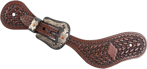 Cashel Antique Diamond Spur Strap - Bronco Western Supply Co.