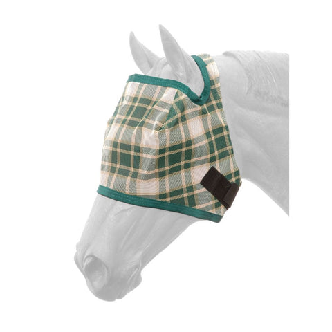 Plaid Mesh Fly Mask - Bronco Western Supply Co.