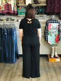 Black Betty Knit One-Piece Jumpsuit - Bronco Western Supply Co.