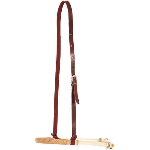 Double Rope Rawhide Braided Noseband