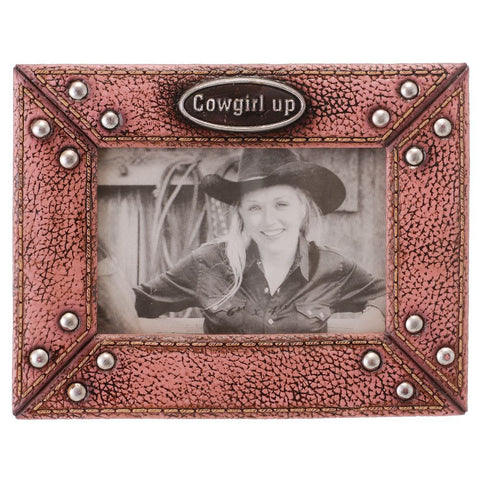 """Cowgirl Up"" Frame - Bronco Western Supply Co."