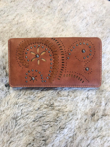 Montana West Cut-out Collection Wallet - Bronco Western Supply Co.