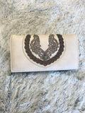 Montana West Embroidered Collection Wallet with Braided Stitch - Bronco Western Supply Co.
