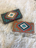 Montana West Embroidered Aztec Collection Wallet - Bronco Western Supply Co.