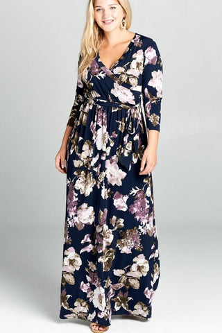 Gone With The Wind Floral Maxi