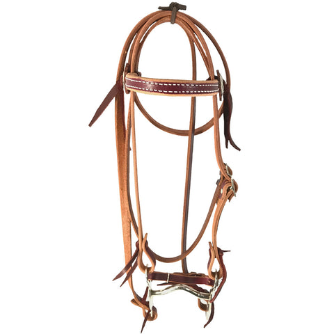 Latigo Pony Bridle - Bronco Western Supply Co.