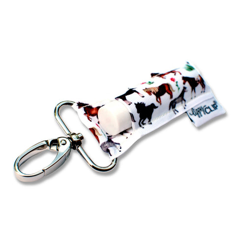 Horses LippyClip Lip Balm Holder - Bronco Western Supply Co.