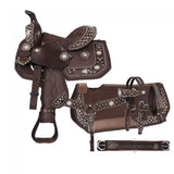 Starlight Collection Miniature 5 Piece Trail Saddle Package - Bronco Western Supply Co.
