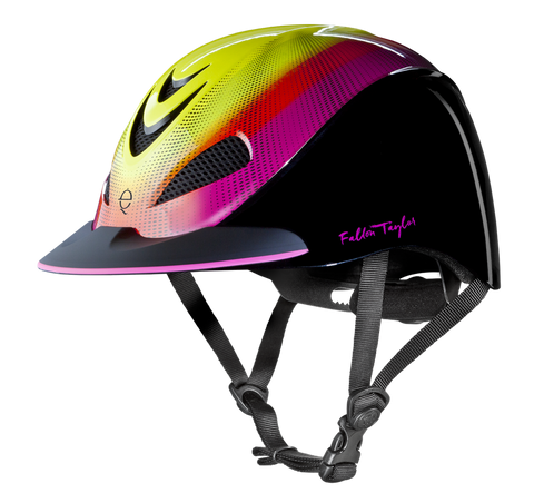 Fallon Taylor Neon Flare Helmet - Bronco Western Supply Co.