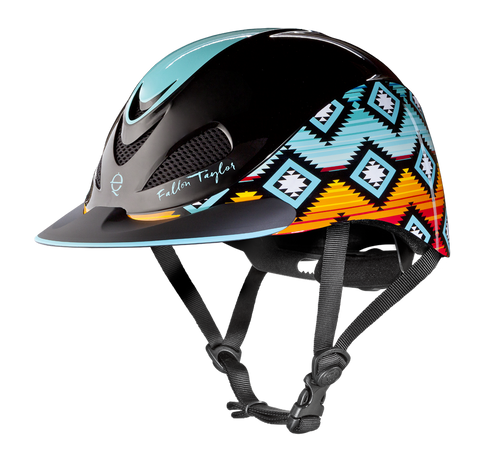 Fallon Taylor Sunset Serape Helmet - Bronco Western Supply Co.