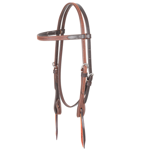 Chestnut Roughout Headstall
