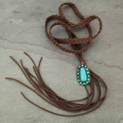 It's Five O'Clock Somewhere Necklace - Bronco Western Supply Co.